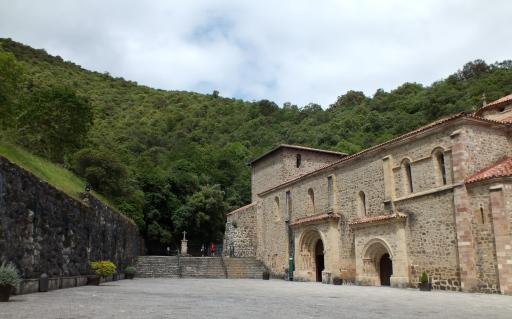 Monastery of Santo Toribio de Liébana.