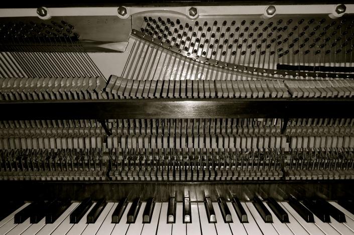 replacing piano bridle straps