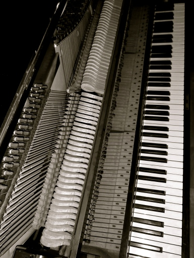 Upright Piano Mechanism Photography