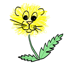 Dandelion Doodle by Sterry Cartoons