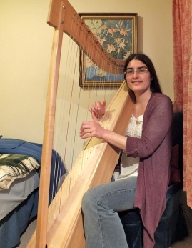 Hannah Sterry - Harpist based in Salcombe, South Hams, Devon.