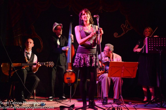 Hamer and Isaacs gypsy swing band by Scott Calnon Photography