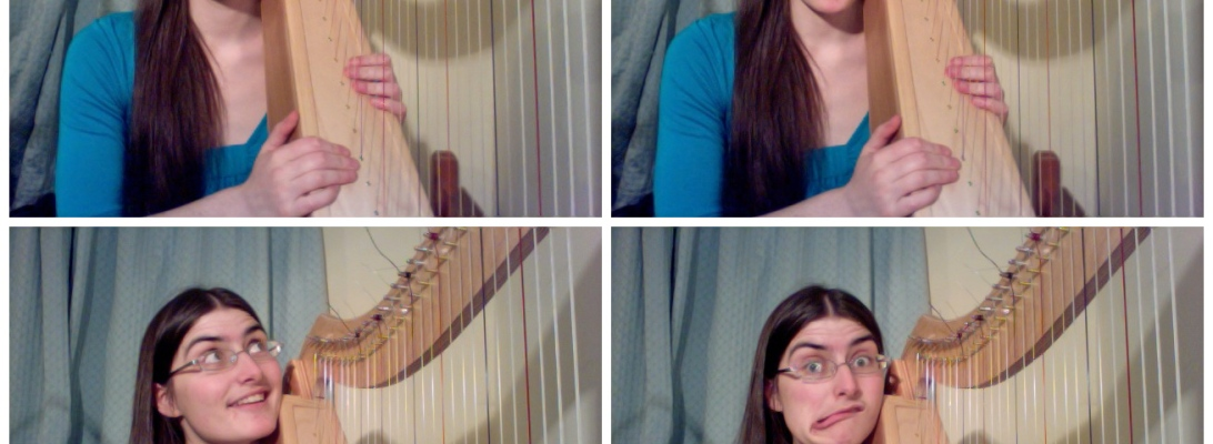 The many faces of Hannah Sterry: Jazz Flautist & Harpist