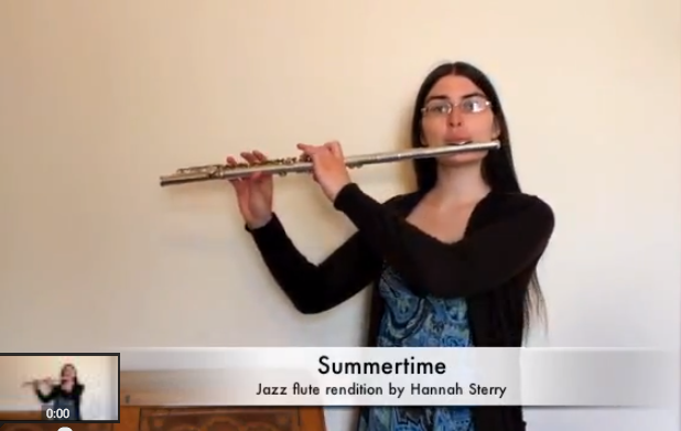 Summertime: Jazz Flute Version by Hannah Sterry