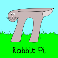 Rabbit Pi by Hannah Sterry (Sterry Cartoons)