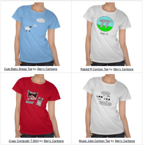 Sterry Cartoons T-shirts for Sale
