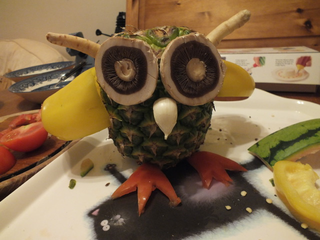 Pineapple Owl!