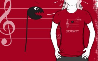 Crotchety Tee by Sterry Cartoons. Jokes for music teachers and students.