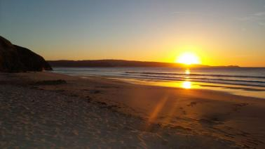 Hayle Sunset by Hannah Sterry.