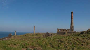 Levant Tin Mine, Cornwall. Image copyright of Hannah Sterry.