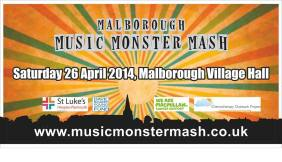 Malborough Music Monster Mash Banner