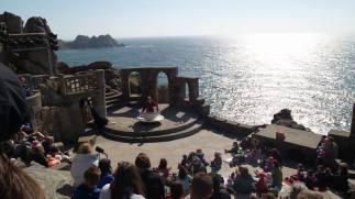 The Minack Theatre, Cornwall. Image copyright of Hannah Sterry.