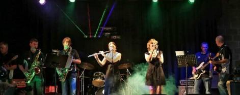 Ansa Back performing at the Music Monster Mash 2014.