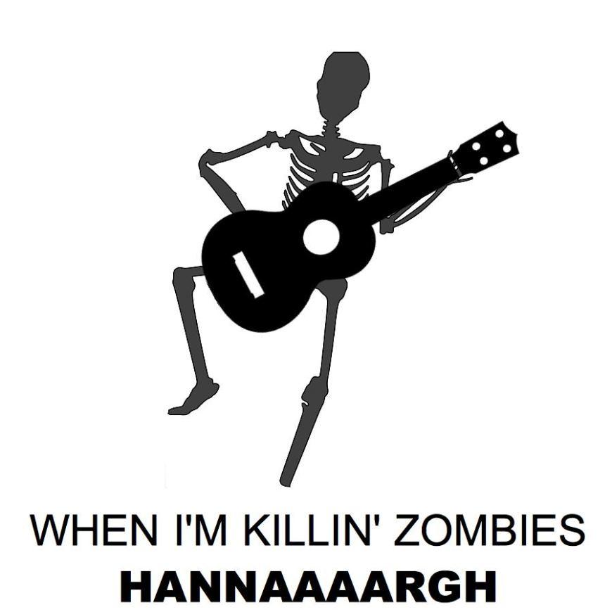 When I'm Killin' Zombies Cover