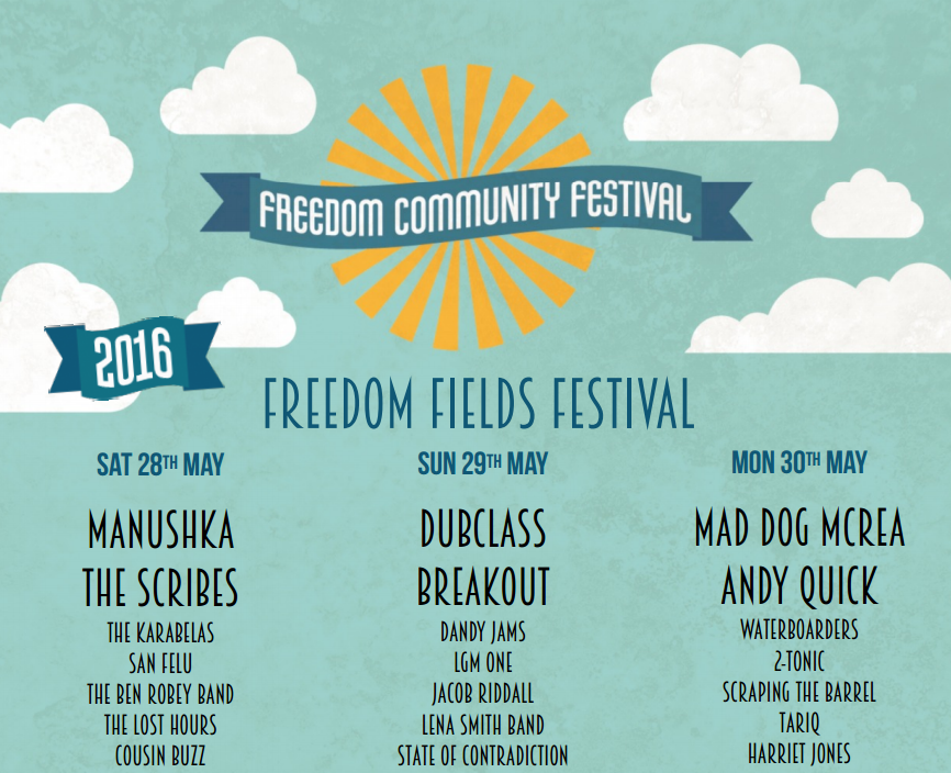 Freedom Fields Main Stage