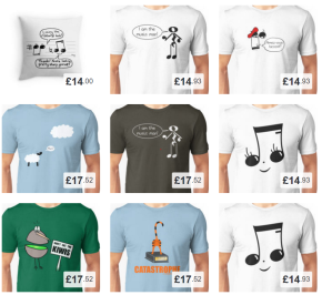 New products in the Sterry CartoonsShop